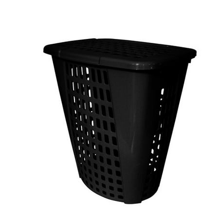 Home Logic 2 Bushel Laundry Hamper Black Walmart Com