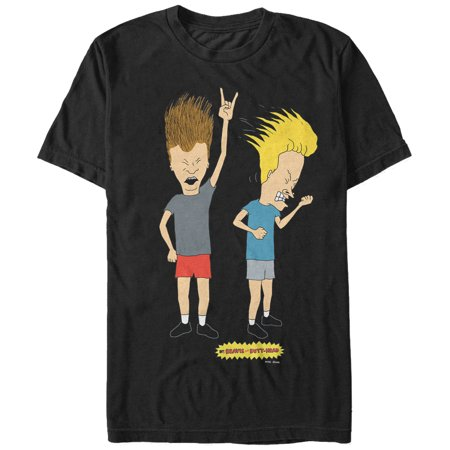 Beavis and Butt-Head Men's Head Banging Rockers T-Shirt for $<!---->