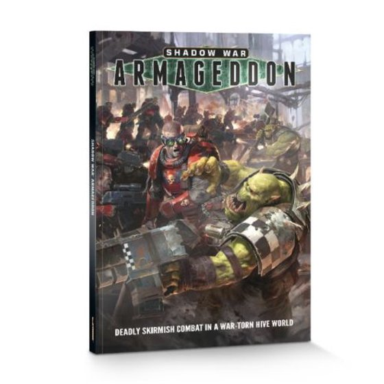 Warhammer 40k Shadow Wars: Armageddon rulebook/Codex