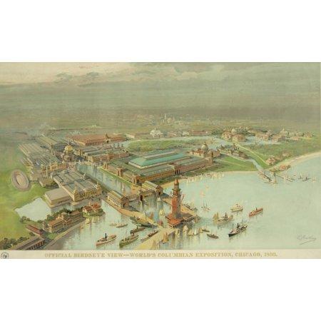- Birdseye View WorldS Columbian Exposition History