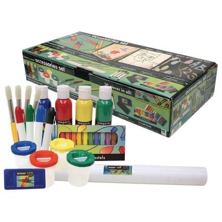 Art Alternatives Children's Easel Accessory Art Set