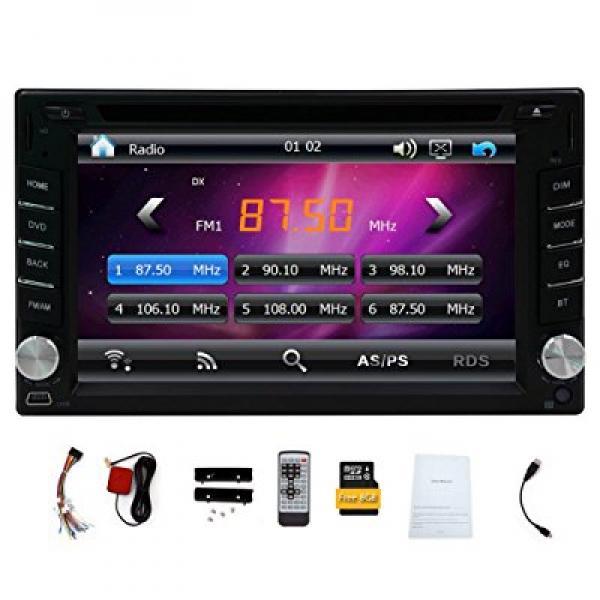 New Version ! 800MHZ CPU !!! GPS Navigation Car Radio 6.2...