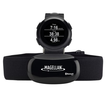 Magellan Echo Fit Sports Watch With Heart Rate Monitor Black