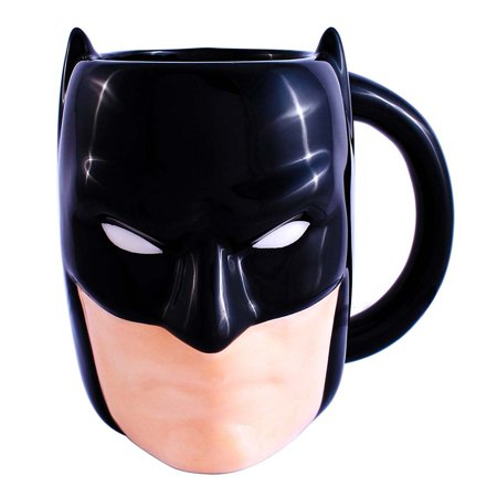 0013ceb7f Batman 3D Molded Mug Gotham Bruce Wayne Dark Knight Justice League DC  Comics - Walmart.com