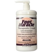 Foot Miracle Therapeutic Foot Cream - 32 oz. Pump