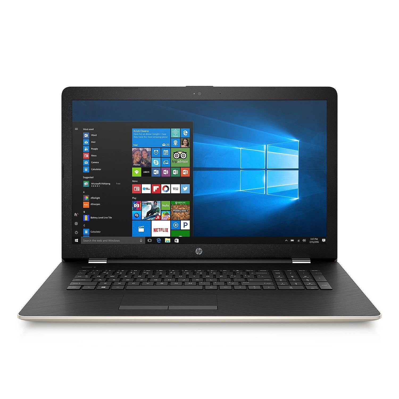 "HP Premium Flagship Laptop 15.6"""" Touchscreen Intel Quad Core N3710 Processor (1.6 GHz), 4GB RAM, 1TB HDD, Intel HD, DVDRW, WLAN, Webcam, USB 3.0, HDMI, Windows 10 - GOLD"