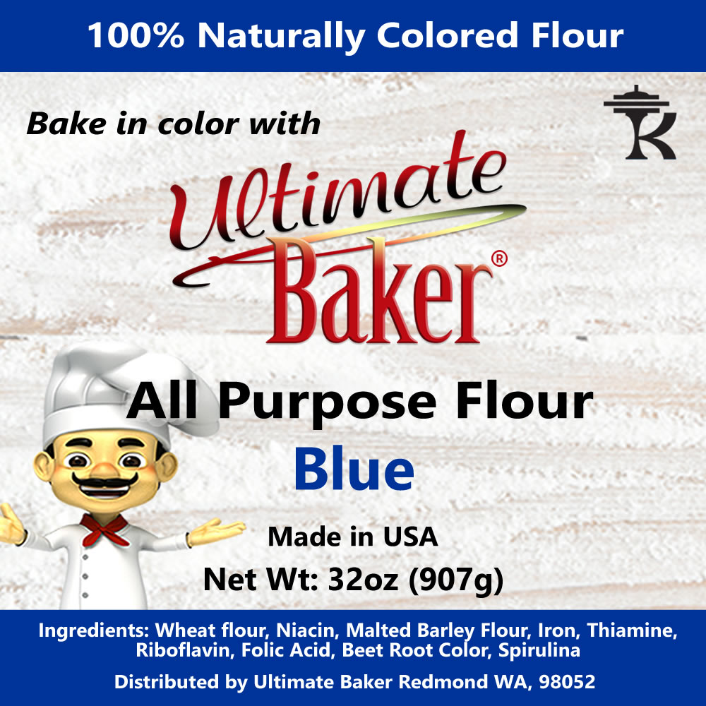 Ultimate Baker All Purpose Flour Blue (1x2lb)