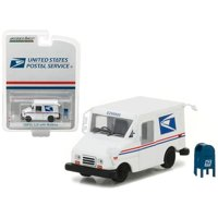 Greenlight United States Postal Service 1:64 Long Life Postal Vehicle with mail box accessory Hobby Exclusive