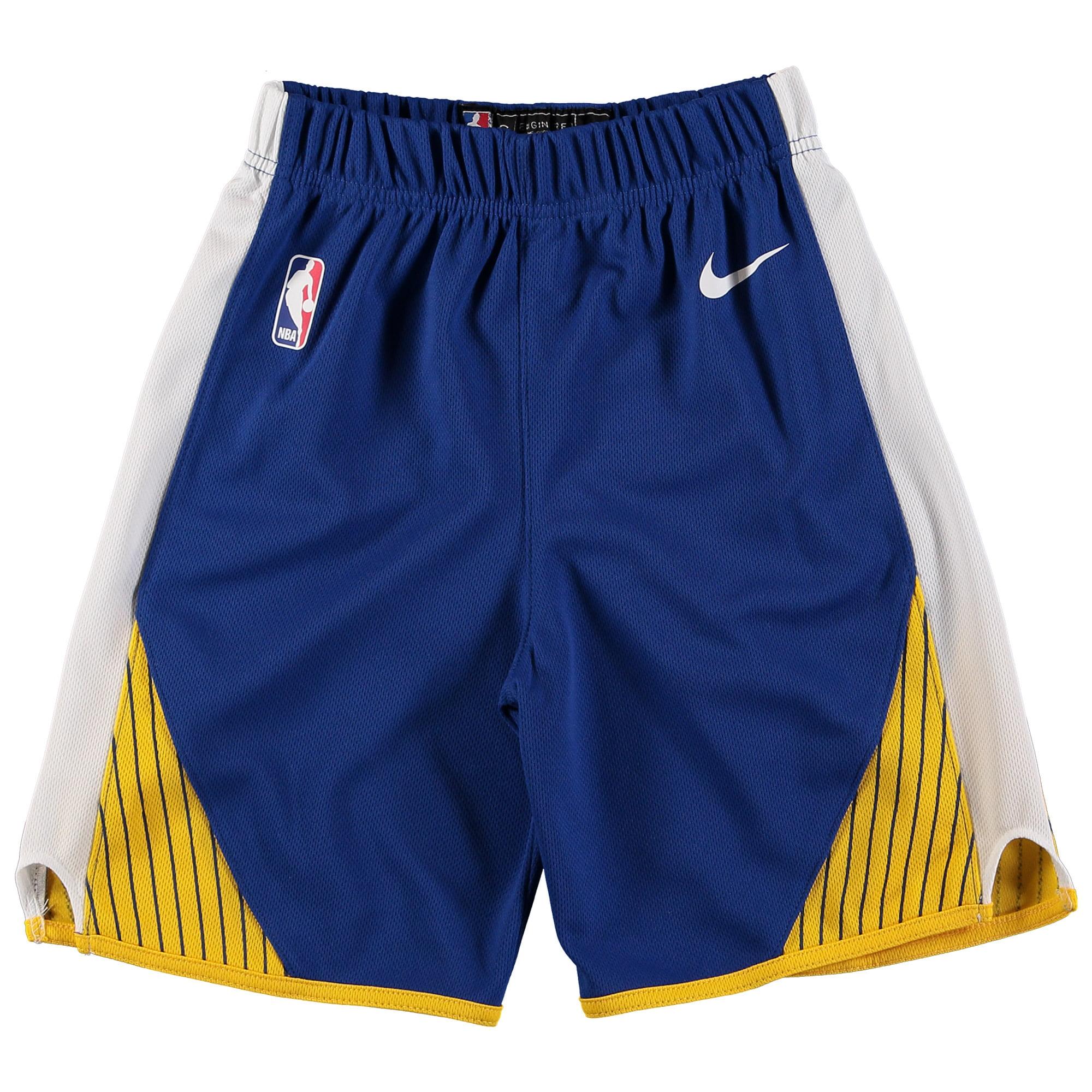 Golden State Warriors Nike Preschool Icon Replica Team Shorts - Royal
