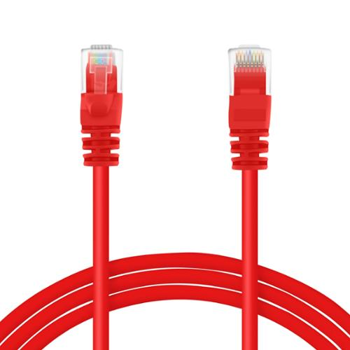 GearIt 25 Feet Cat 6 Ethernet Cable Cat6 Snagless Patch - Computer LAN Network Cord, Red [Lifetime Warranty]
