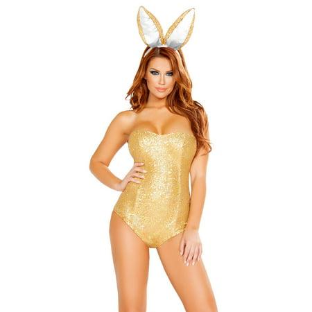 Gold Suit Halloween (Golden Bunny Costume)