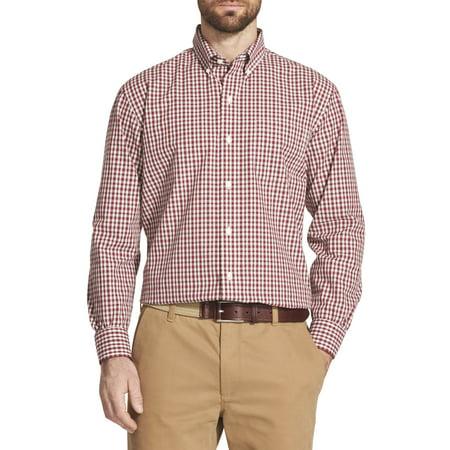 Mens Stretch Poplin Shirt (Men's Big and Tall Long Sleeve Hamilton Poplin Button Down)