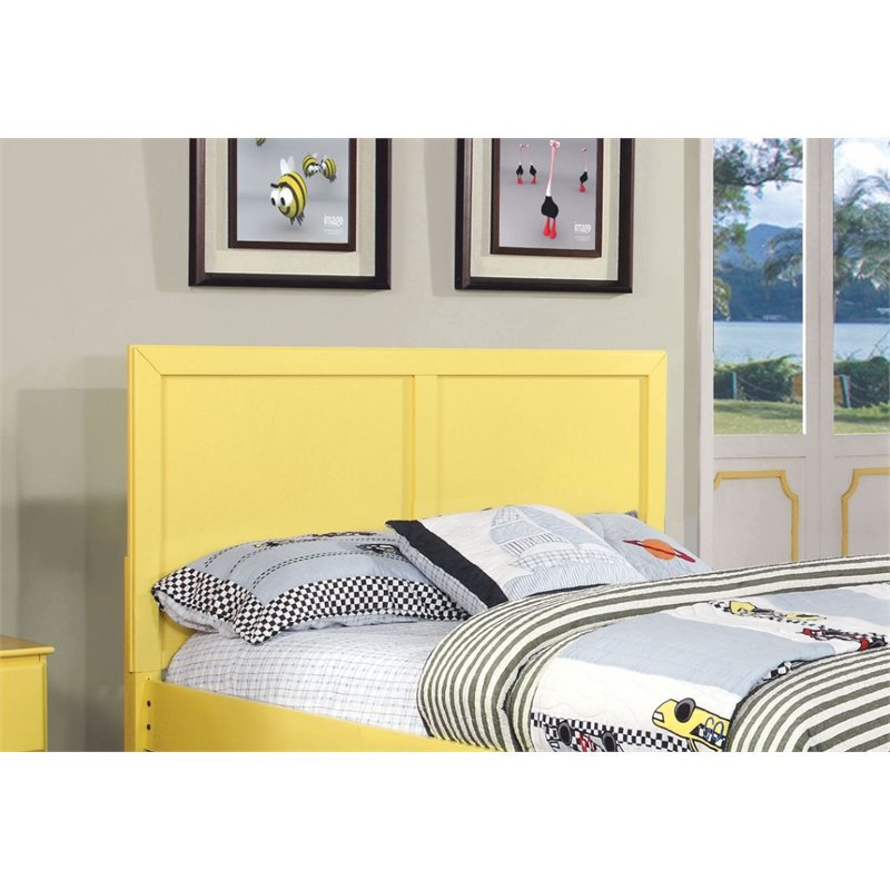 Furniture of America Geller Full Queen Kids Panel Headboard