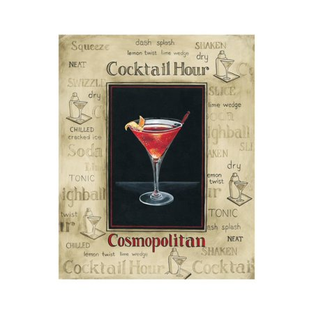 (Cosmopolitan Print Wall Art By Gregory Gorham)
