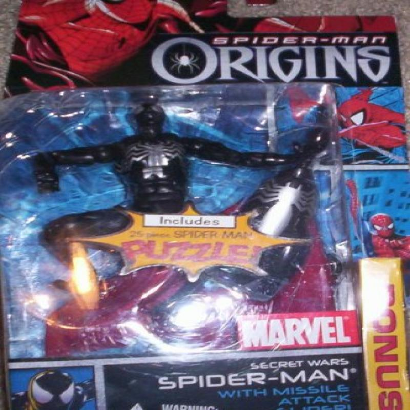 Spider-Man Origins Secret Wars SPIDER MAN by