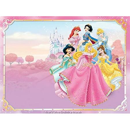 1 2 Sheet Disney Princess Ariel Aurora Bella Cinderella Tiana Snow