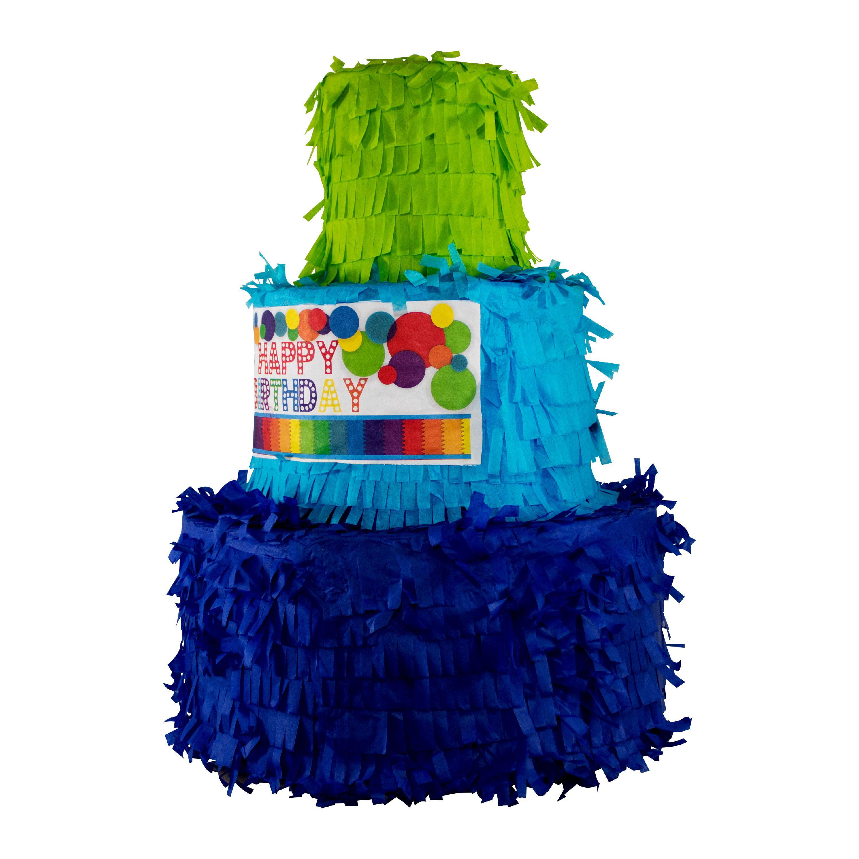 Fantastic Party Piatas Birthday Cake Pinata Walmart Com Walmart Com Funny Birthday Cards Online Elaedamsfinfo