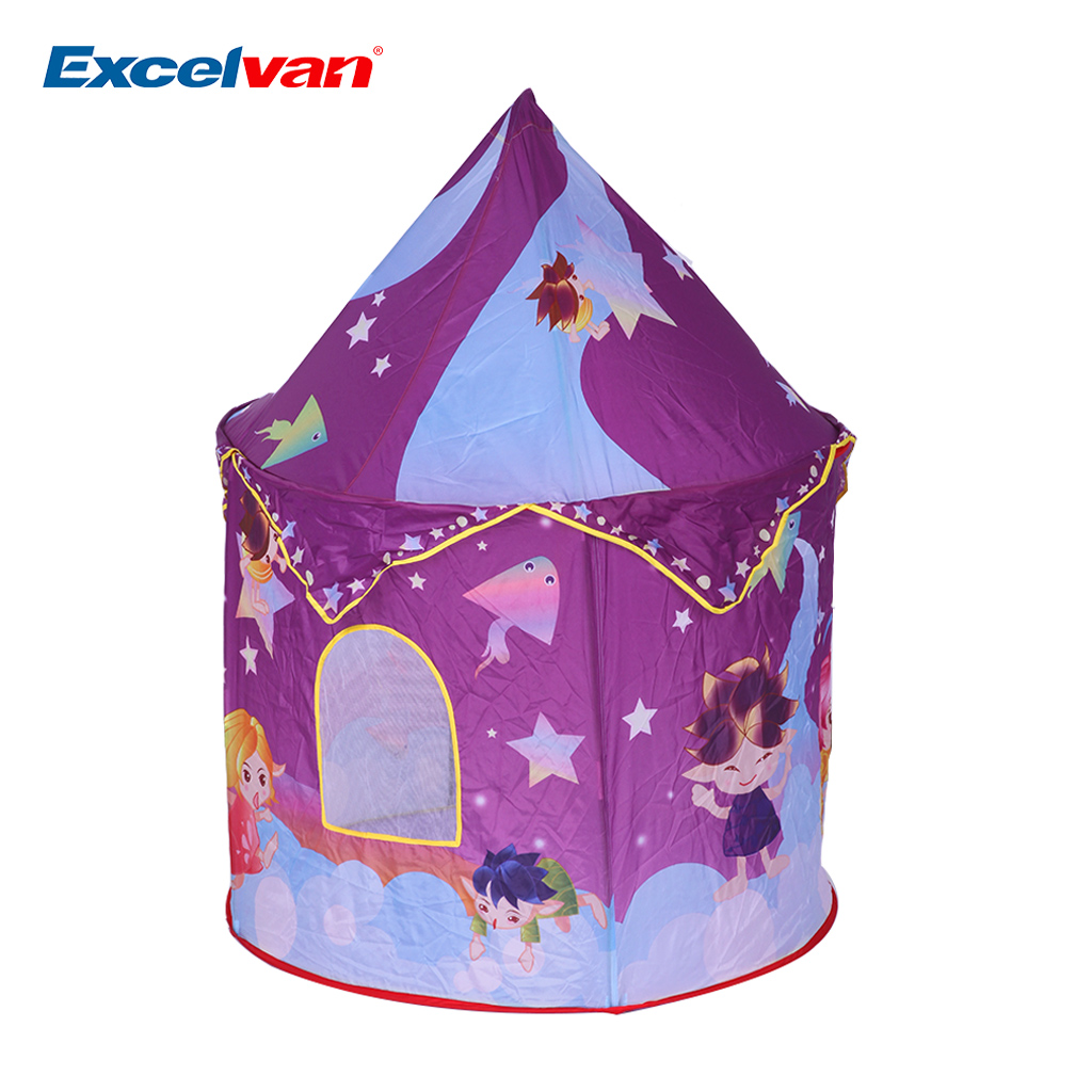 Foldable Baby Toddlers Pop-up Tent Star Theme Castle Cubby Playhouse Kids Home Children Game  sc 1 st  Walmart.com & Play Tents - Walmart.com