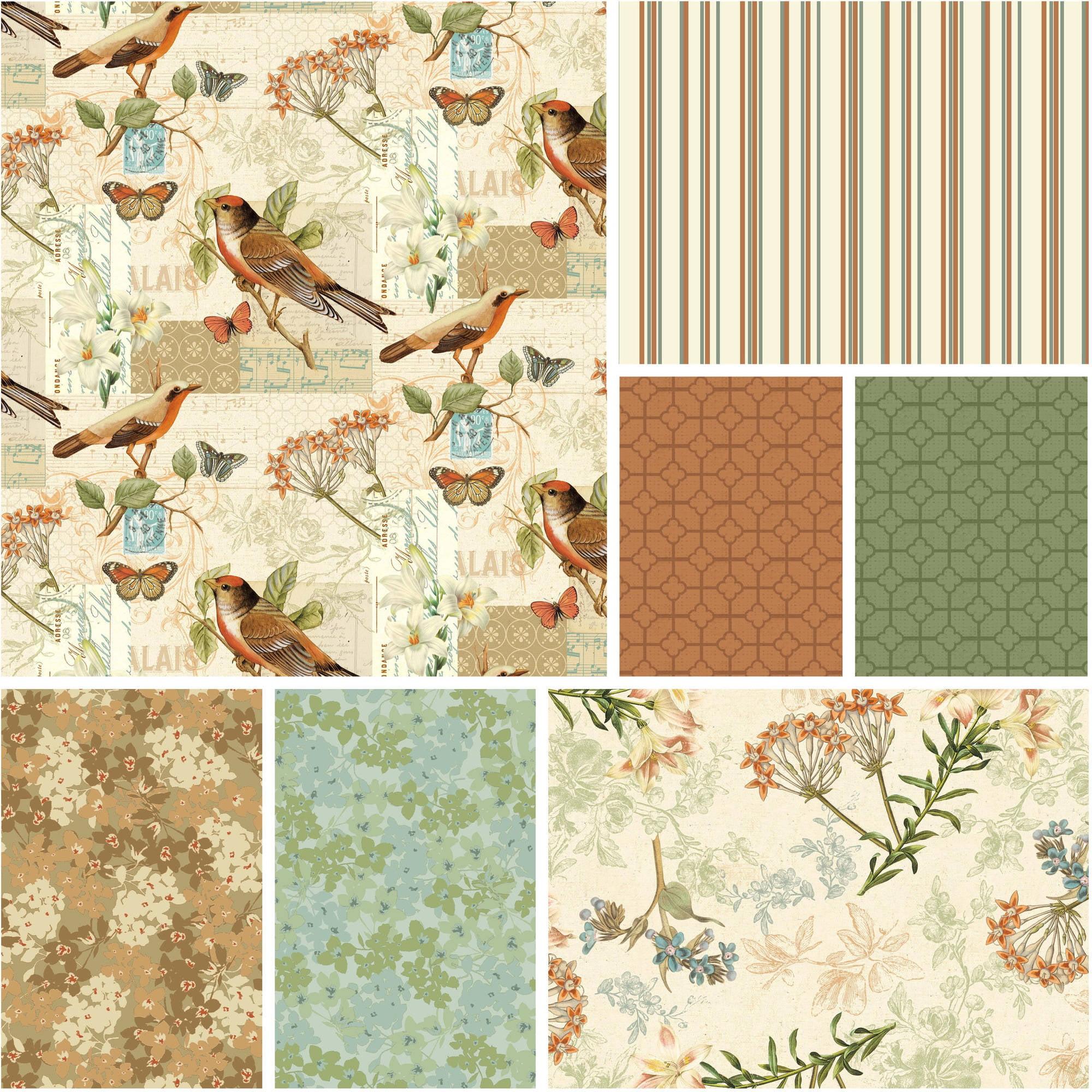 "David Textiles Oak Avenue Collection Cotton 44"" Fabric, per Yard"