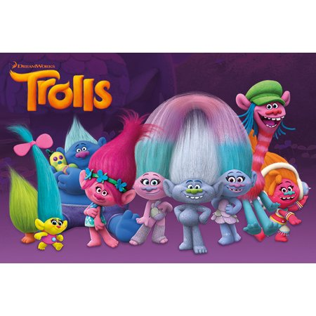 Trolls - Movie Poster / Print (Characters) (Size: 36