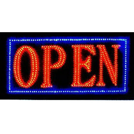 Cleveland Indians Neon Sign - Latest 2017 Version High Energy Efficiency (More LEDs Less Power) Open Sign Vivid Attention Catcher Animated LED Neon Business Light Classic Look LN32