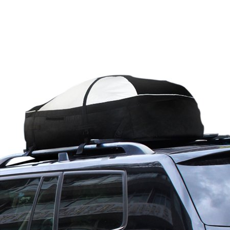 LOHAS Home 15 Cubic Feet Roof Top Cargo Rack Waterproof Car Storage Bag