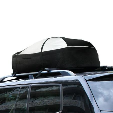 Lohas Home 15 Cubic Feet Roof Top Cargo Rack Waterproof