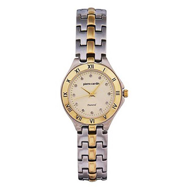 Pierre Cardin Ladies Champagne Dial Diamond Watch Walmart Com Walmart Com