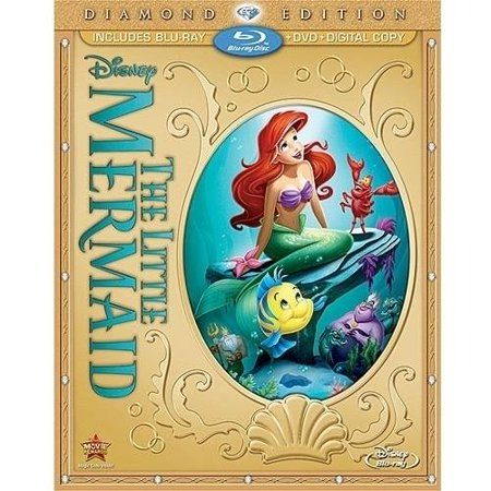The Little Mermaid (Diamond Edition) (Blu-ray + DVD + Digital Copy) (Anamorphic Widescreen)