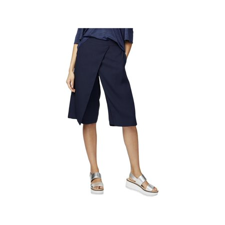 Rachel Rachel Roy Womens Faux Wrap Knee Length Gaucho Pants