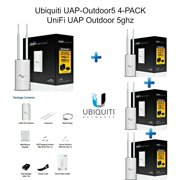 Ubiquiti UAP-Outdoor5 4-PACK UniFi 5 GHz Access Point Enterprise Wi-Fi System