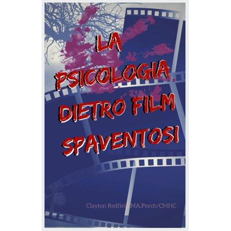 La psicologia dietro film spaventosi - eBook