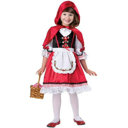 Storybook Red Riding Hood Toddler Costume - Red Riding Hood Dress Up