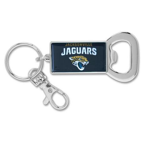 Jacksonville Jaguars WinCraft Bottle Opener Key Ring Keychain - No Size