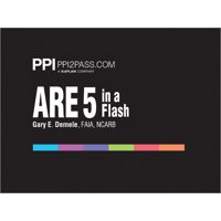 Ppi Are 5 in a Flash: Rapid Review of Key Topics, 1st Edition (Cards) - More Than 400 Architecture Flashcards (Other)