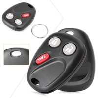 GZYF 2 Keyless Entry Remote Control Key Fob Replacement 3-Button for 2003-2006 Chevrolet Avalanche GMC Sierra Yukon 2003-2007 Hummer H2