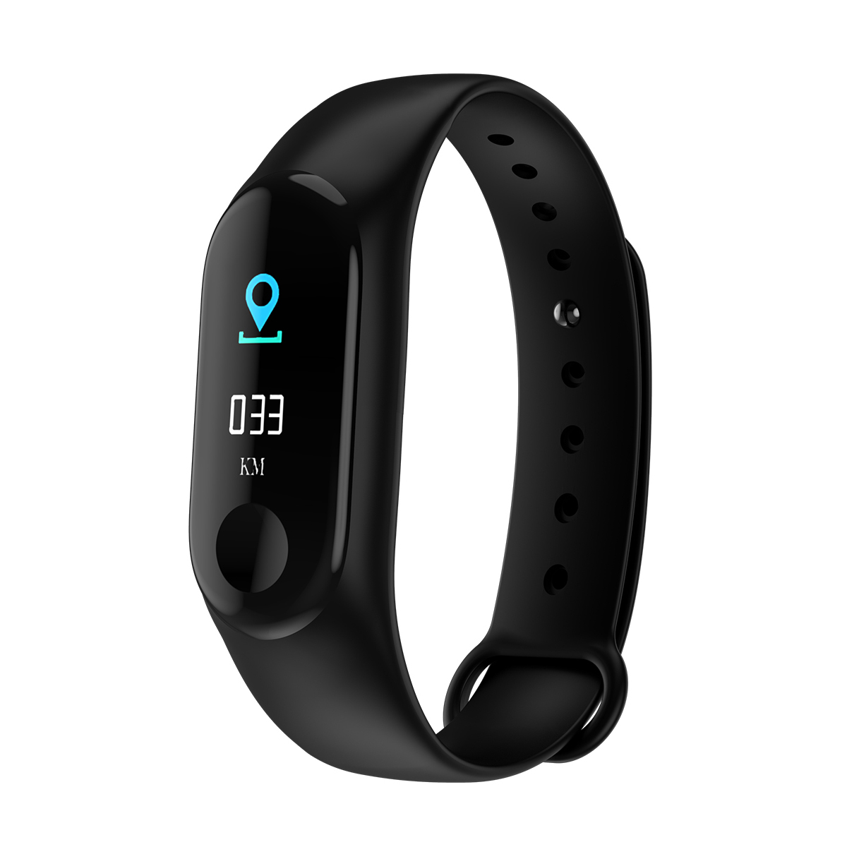 IMAGE Fitness Tracker Heart Rate Monitor Activity Tracker Bluetooth Wireless Smart Wristwatch for Android & IOS