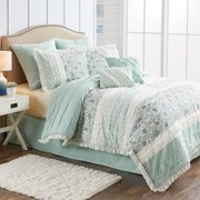 Better Homes and Gardens 8-Piece Cottage Floral Comforter Collection