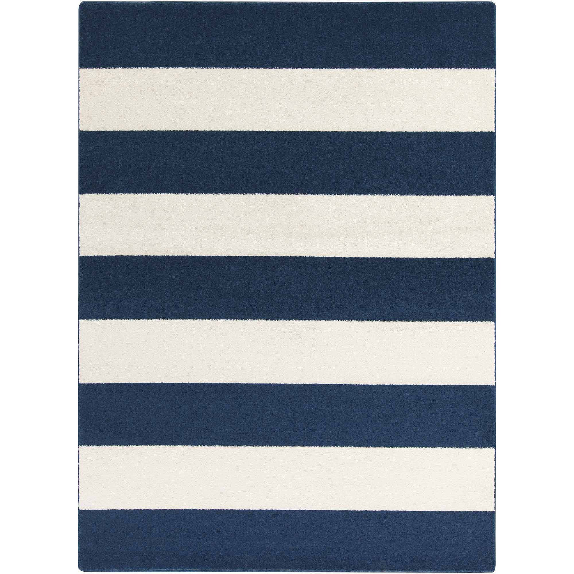 apartment AH Napa Machine Made Geometric Area Rug, Cobalt