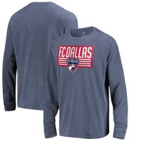 FC Dallas Fanatics Branded in Partnership with Alta Gracia Double Circle Washed Long Sleeve T-Shirt - Navy