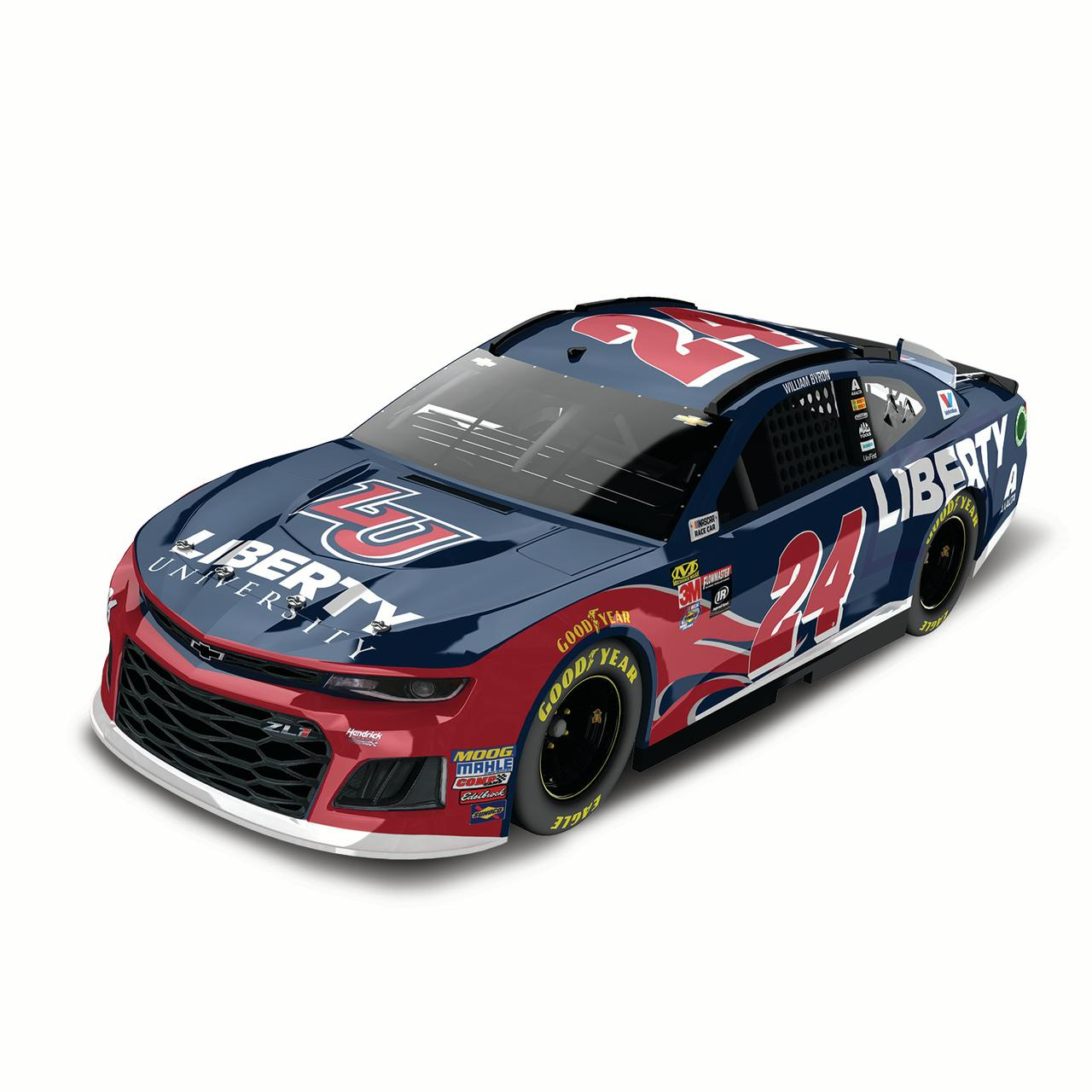 Lionel Racing William Byron #24 Liberty University 2018 Chevrolet Camaro 1:24 Scale HO Die-cast
