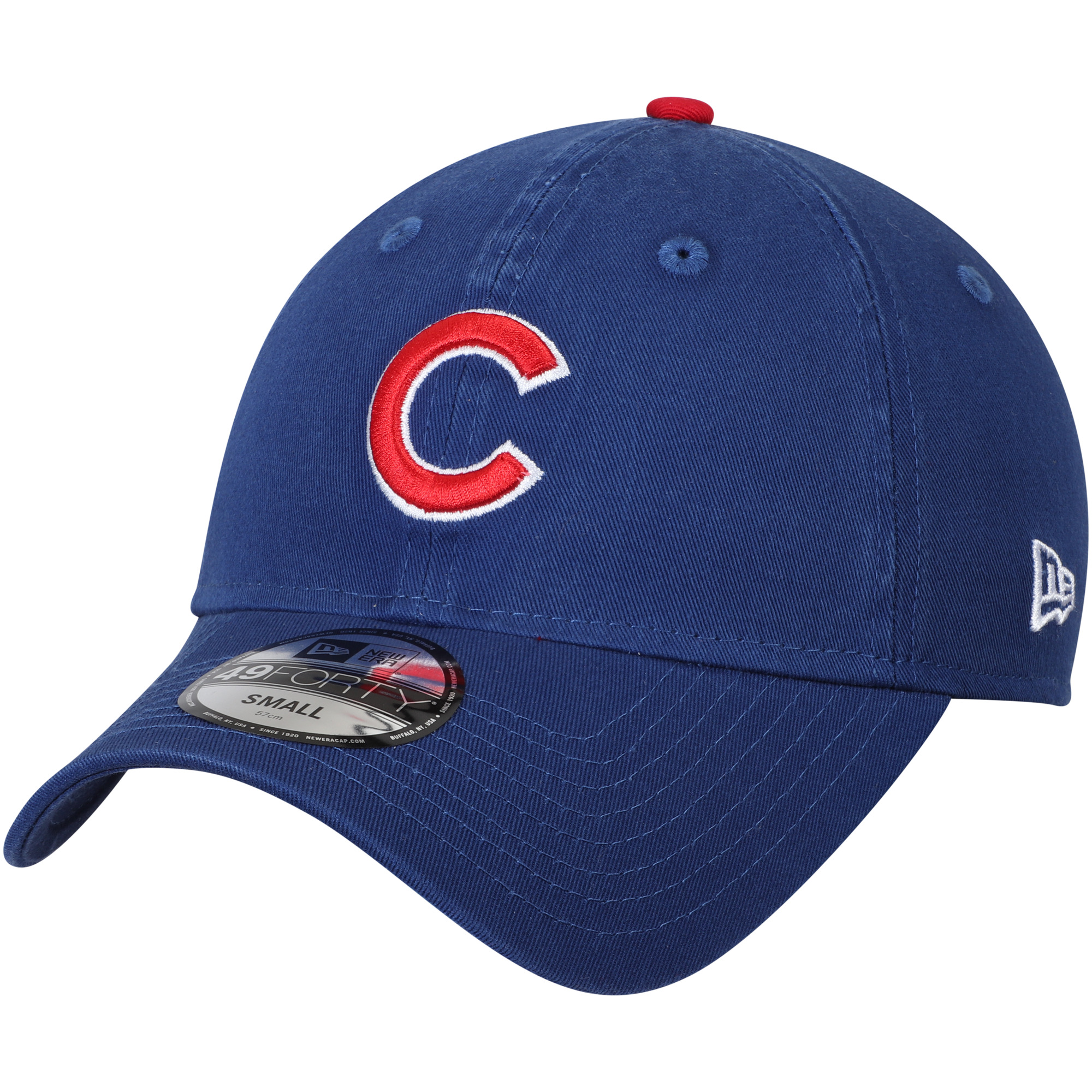 Chicago Cubs New Era Core Fit Replica 49FORTY Fitted Hat - Royal