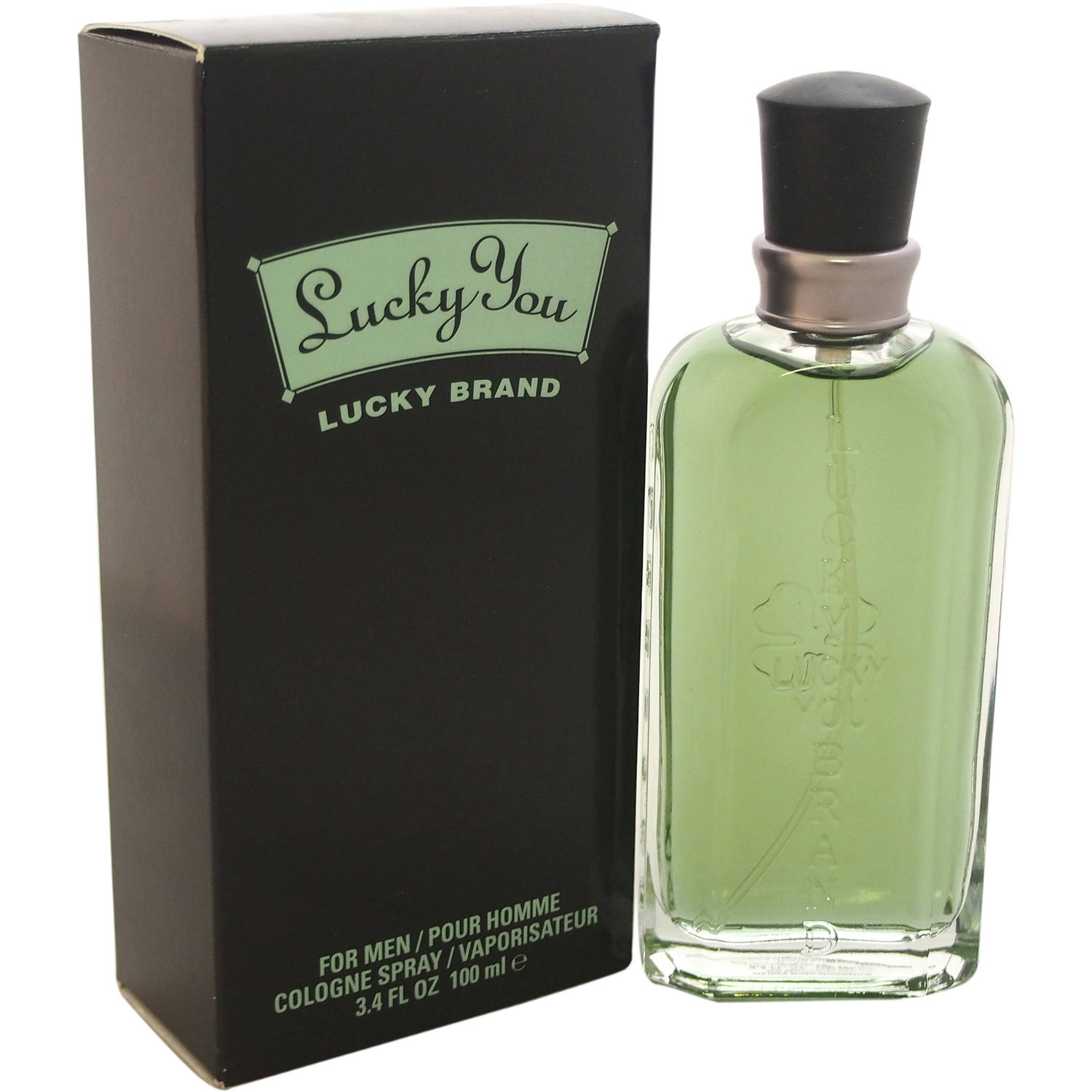 Liz Claiborne Lucky You Eau de Cologne for Men Spray, 3.4 oz