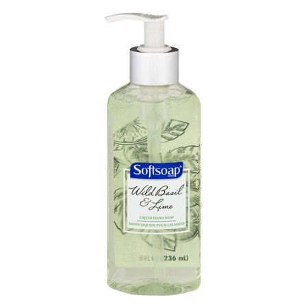 Softsoap Liquid Hand Soap  Wild Basil And Lime   8 Fl Oz