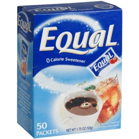 (3 Pack) Equal Coffee and Tea Sweetener Low Sugar Sweetener with No Calories Artificial Sugar Replacement Sweetener,