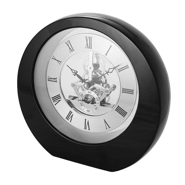 Natico Originals 10-5388B Interactive Gear Clock, Black