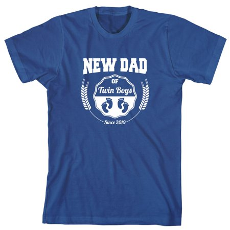 New Dad Of Twin Boys Since 2019 Men's Shirt - ID: 2351
