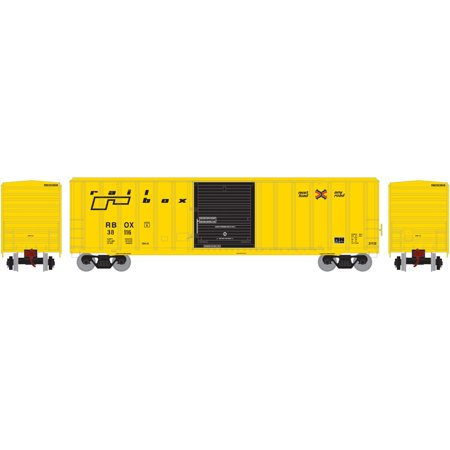 Athearn Ho Scale 50Ft Fmc 5347 Box Car Railbox Rbox  Early Paint Scheme   38116
