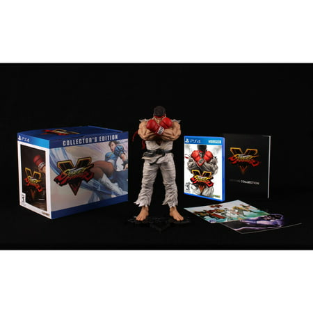 - Street Fighter V Collector's Edition (PS4)