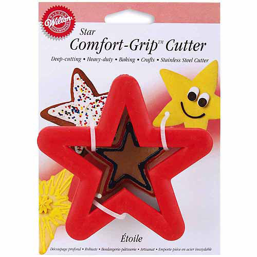 "Wilton Comfort Grip 4"" Cookie Cutter, Star 2310-605"